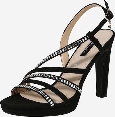 Sandale cu baretă 'ACALA' MARIAMARE pe negru, Vizualizare produs