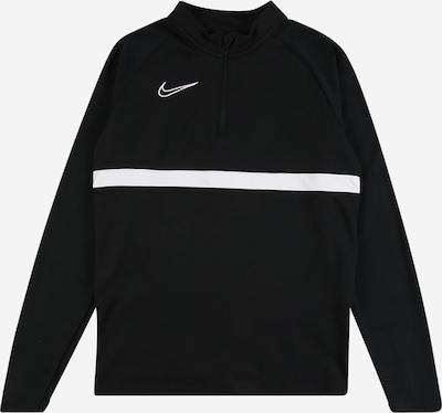 NIKE Bluza sportowa w kolorze czarny / białym, Podgląd produktu