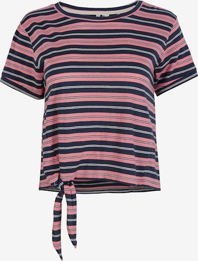 O'NEILL T-Shirt in navy / pink / weiß, Produktansicht