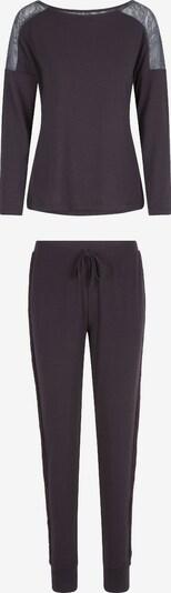 LingaDore Pyjama en marron, Vue avec produit