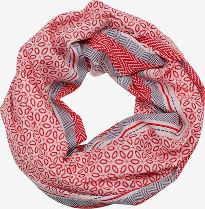 s.Oliver Tunnelsjaal in de kleur Grijs / Rood / Wit, Productweergave