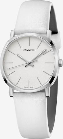 Calvin Klein Analog Watch 'K8Q331L2' in White