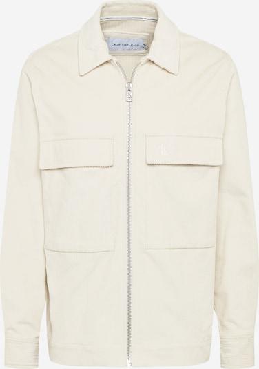 Calvin Klein Jeans Overhemd in de kleur Crème, Productweergave