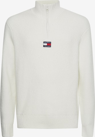 Tommy Jeans Pullover in Weiß