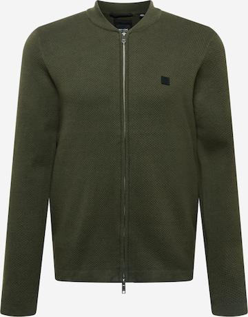 Only & Sons Плетена жилетка 'WAYLON' в зелено