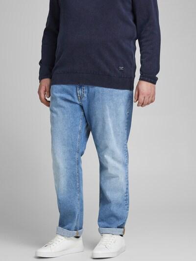 Jack & Jones Plus Jeans 'JJIGLENN JJORIGINAL NA 032' in blau, Modelansicht