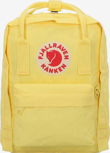Fjällräven Rucksack in gelb / rot, Produktansicht