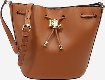 Geantă tip sac 'ANDIE' de la Lauren Ralph Lauren pe maro