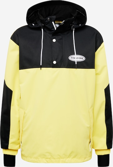 Volcom Outdoorjacka 'LONGO' i limone / svart, Produktvy