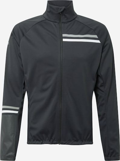 Rukka Veste de sport 'ROIHIS' en gris clair / noir / blanc, Vue avec produit