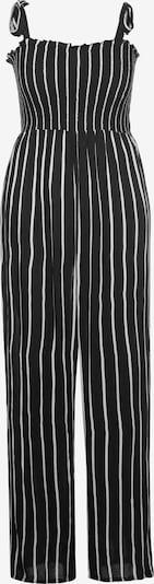 Ulla Popken Jumpsuit in schwarz / weiß, Produktansicht