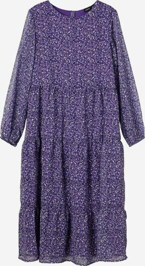 NAME IT Kleid in lila / helllila / weiß, Produktansicht