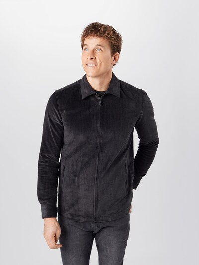 DRYKORN Overhemd 'Remy' in de kleur Zwart, Modelweergave