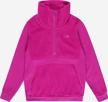 Pull de sport ADIDAS PERFORMANCE en violet