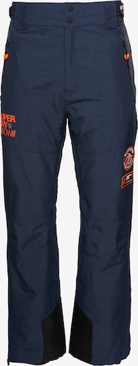 Superdry Sportbroek 'Mountain Snow' in de kleur Enziaan / Zwart, Productweergave