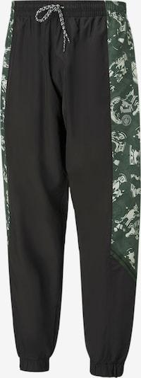 PUMA Sporthose 'Man City' in grün / schwarz / weiß, Produktansicht
