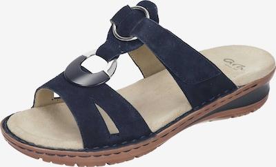 ARA Pantolette 'Hawaii' in nachtblau, Produktansicht