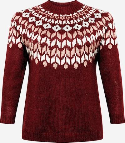 Zizzi Sweter w kolorze bordowym, Podgląd produktu