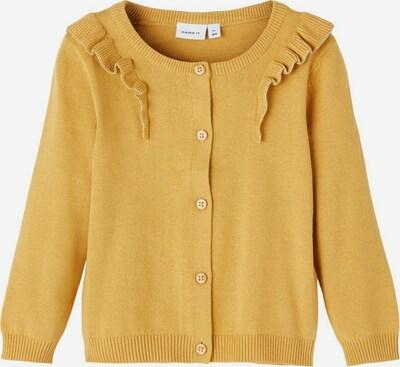 NAME IT Cardigan en jaune, Vue avec produit