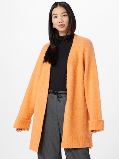 OPUS Knit cardigan 'Dembona' in Orange, View model