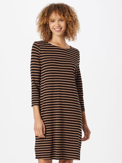ABOUT YOU Kleid 'Arven' in camel / schwarz, Modelansicht