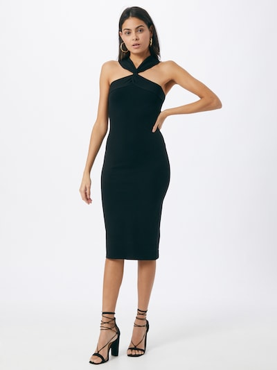 ONLY Kleid 'LIOR' in dunkelgrün, Modelansicht