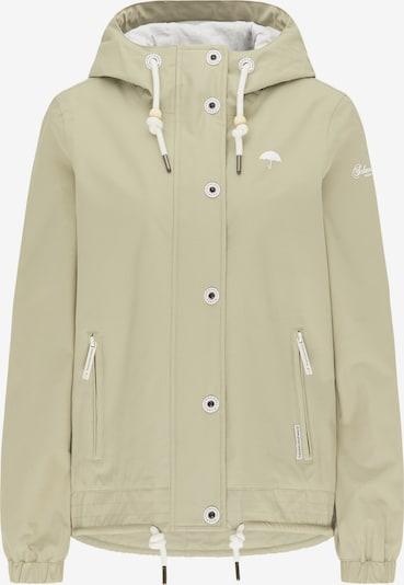 Schmuddelwedda Funktionsjacke in pastellgrün / weiß, Produktansicht
