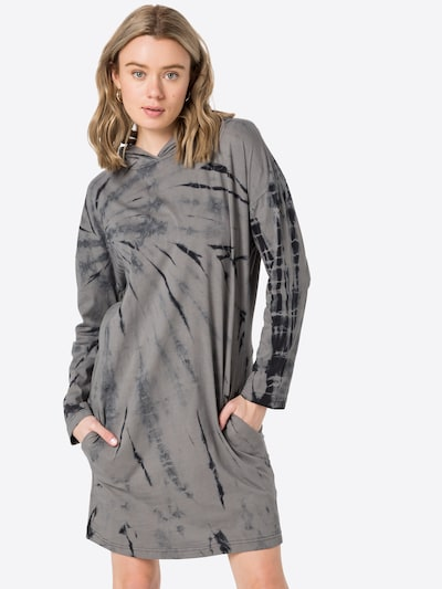 Urban Classics Šaty - sivobéžová / čierna, Model/-ka
