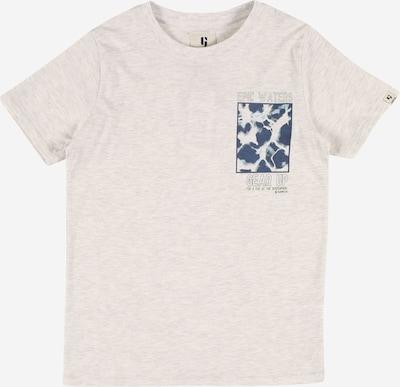 GARCIA T-Shirt en bleu-gris / blanc, Vue avec produit