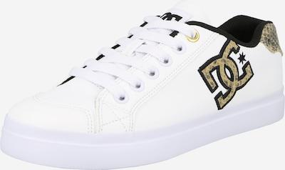 DC Shoes Sneaker in beige / schwarz / weiß: Frontalansicht