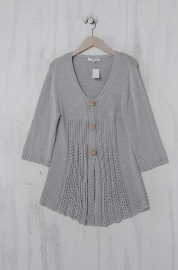 Cassis Sweater & Cardigan in L in Light grey, Item view