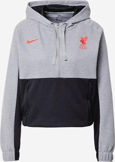 szürke melír / korál / fekete NIKE Sport szabadidős felsők 'Liverpool FC', Termék nézet