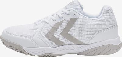 Hummel Chaussure de sport en gris / blanc, Vue avec produit