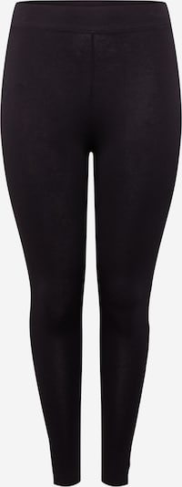 ONLY Carmakoma Leggings i sort / hvid, Produktvisning
