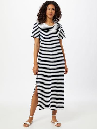 basic apparel Kleid 'Rita' in navy / weiß, Modelansicht