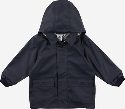 PETIT BATEAU Jacke in nachtblau / weiß, Produktansicht