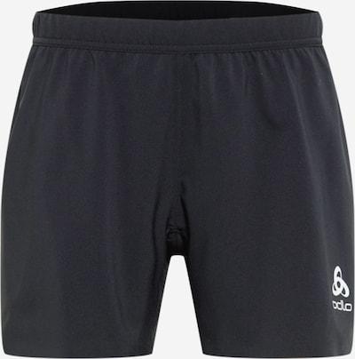 ODLO Pantalón deportivo en negro / blanco, Vista del producto