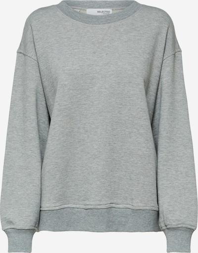 SELECTED FEMME Sweatshirt in hellgrau, Produktansicht