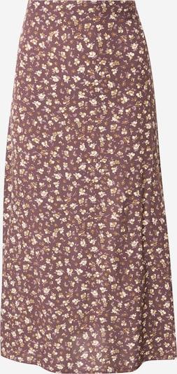 Trendyol Jupe en marron / violet / blanc, Vue avec produit