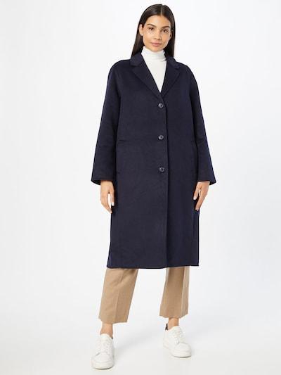 GAP Between-Seasons Coat in Navy, View model