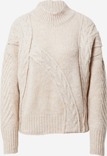 OBJECT Pullover 'Peyton' in beige, Produktansicht