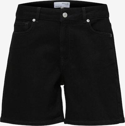 SELECTED FEMME Jeans 'Silla' in black denim, Produktansicht