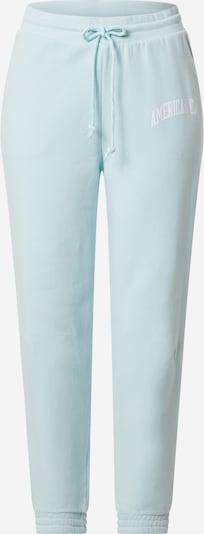 American Eagle Hose in pastellblau / weiß, Produktansicht