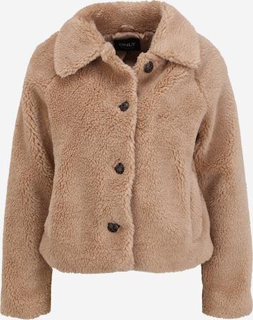 Only Petite Between-Season Jacket 'EMILY' in Brown