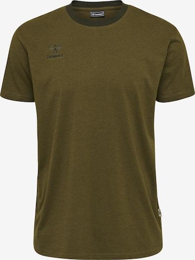 Hummel T-Shirt in oliv, Produktansicht