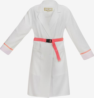 MYMO Mantel in neonpink / weiß, Produktansicht