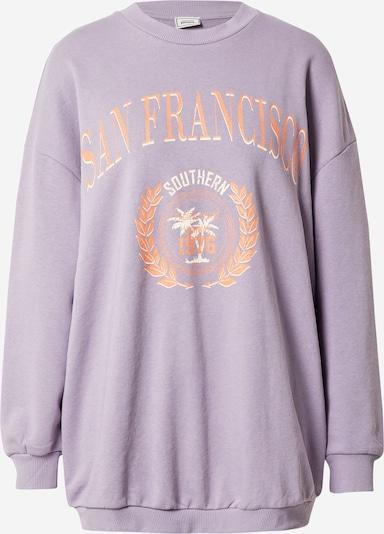 Pimkie Sudadera en lila / naranja / blanco, Vista del producto