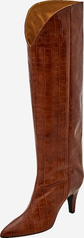 EDITED Boots 'Desdemona' in Brown