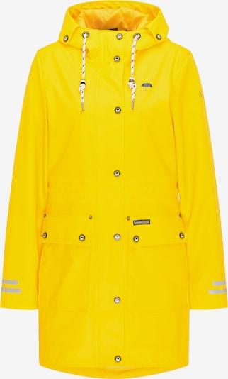 Schmuddelwedda Manteau mi-saison en jaune fluo, Vue avec produit