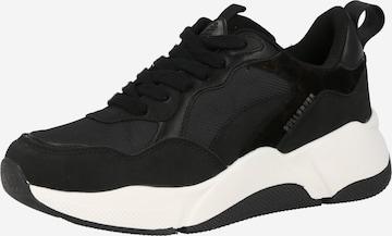 BULLBOXER Rövid szárú edzőcipők - fekete